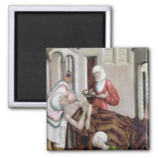 El nacimiento de St. John el Bautista Imán Cuadrado