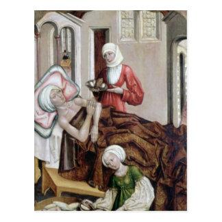 El nacimiento de St. John el Bautista Postal