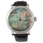 El nacimiento de Venus - arte clásico por Relojes