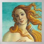 El nacimiento de Venus - ascendente cercano Póster