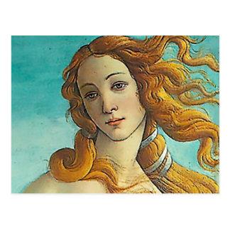 El nacimiento de Venus - ascendente cercano Postales