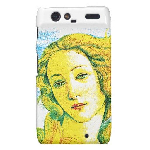 El nacimiento de Venus (Botticelli) Motorola Droid RAZR Carcasas