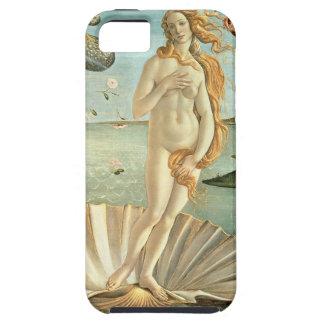 El nacimiento de Venus, c.1485 (tempera en lona) iPhone 5 Funda