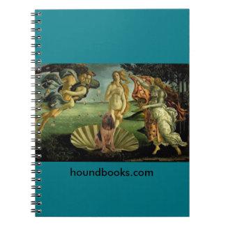 El nacimiento de Venus con Wimsey el sabueso Libros De Apuntes