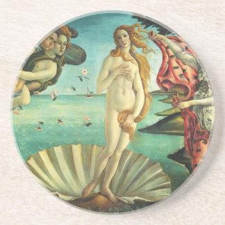 El nacimiento de Venus de Sandro Botticelli Posavasos Manualidades