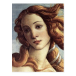 El nacimiento de Venus (detalle) Tarjeta Postal