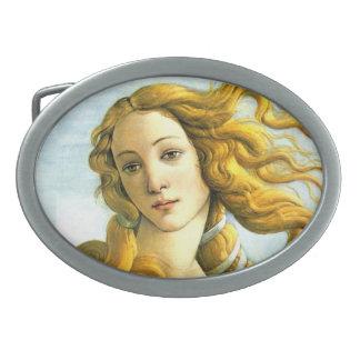 El nacimiento de Venus - hebilla del detalle Hebilla Cinturon Oval