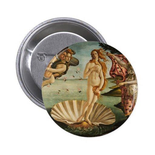 El nacimiento de Venus Pins