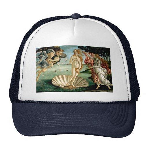 El nacimiento de Venus por Botticelli Gorras De Camionero