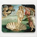 El nacimiento de Venus por Botticelli Tapete De Raton