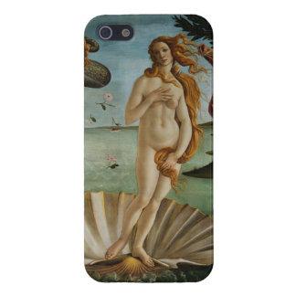 El nacimiento de Venus (por Sandro Botiicelli) iPhone 5 Protector