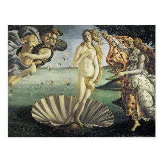 El nacimiento de Venus Tarjetas Postales