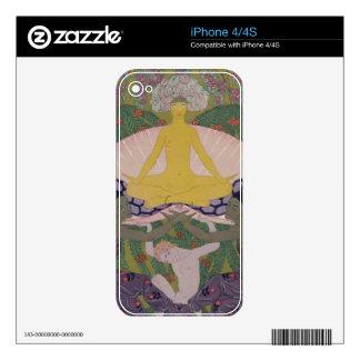 El nacimiento de Venus (tinta y W/c en el papel) ( iPhone 4S Skin