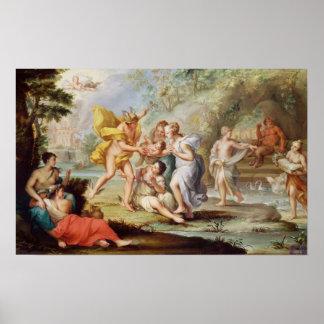 El nacimiento del Bacchus Impresiones