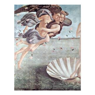 El nacimiento del detalle de Venus de Botticelli S Tarjetas Publicitarias