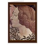 El nacimiento del detalle de Venus de Botticelli S Felicitación