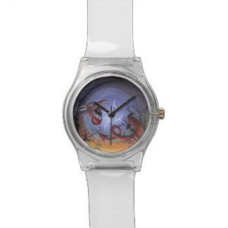 El nacimiento del reloj rojo del dragón