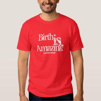 ¡El nacimiento es asombroso! (y muy normal) Polera