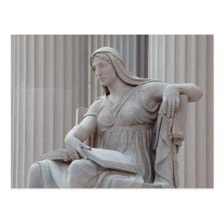 """El nacional archiva la estatua """"el futuro,"""" tarjetas postales"""