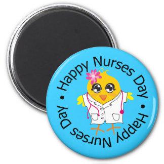 El nacional cuida el día - enfermeras imán