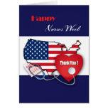 El nacional cuida tarjetas de felicitación de la s