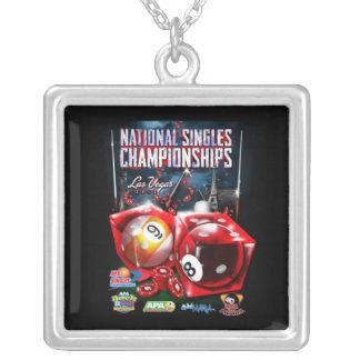 El nacional escoge los campeonatos - diseño de los colgante cuadrado
