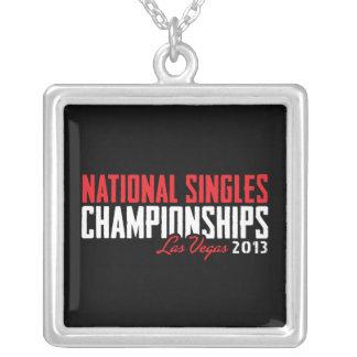 El nacional escoge los campeonatos Las Vegas 2013 Colgante Cuadrado