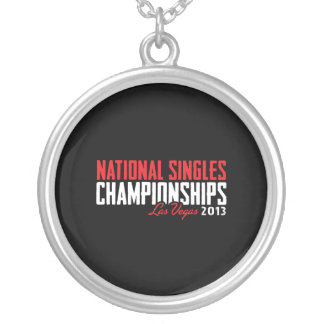 El nacional escoge los campeonatos Las Vegas 2013 Colgante Redondo