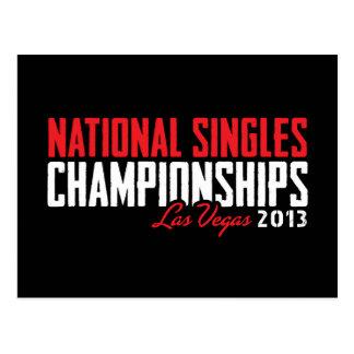 El nacional escoge los campeonatos Las Vegas 2013 Postales