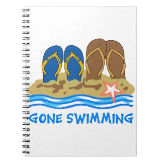 El nadar ido cuaderno