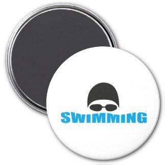 el nadar imán redondo 7 cm