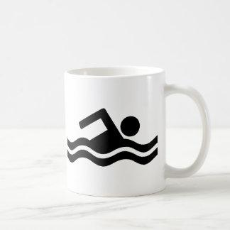 El nadar tazas
