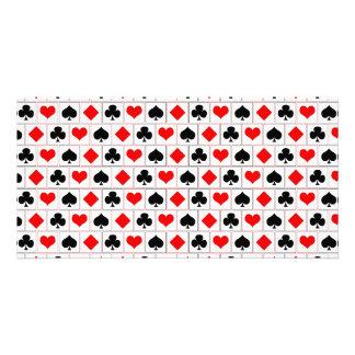 El naipe se adapta al modelo tarjetas fotograficas personalizadas