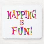 El Napping es diversión Tapete De Ratón