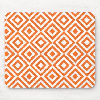 El naranja ajusta el modelo tapetes de ratón