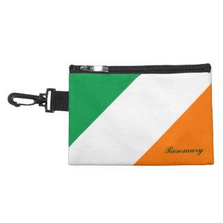 El naranja blanco verde lindo raya el bolso acceso