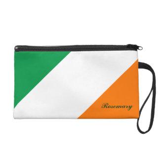 El naranja blanco verde lindo raya el mitón de Bag