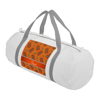 El naranja conocido lleva el modelo de las abejas bolsa de deporte