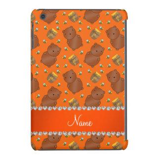 El naranja conocido lleva el modelo de las abejas funda de iPad mini
