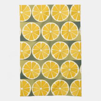 El naranja corta el modelo toalla de cocina