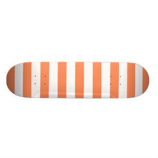 El naranja de la nectarina raya el modelo monopatin personalizado