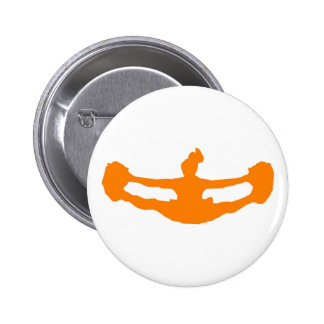 """El naranja """"DEJÓ ALEGRÍA de los E.E.U.U.!"""" Botón Pin"""