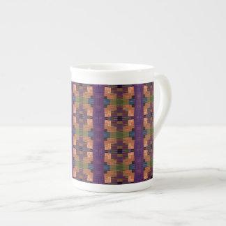 El naranja grande ajusta la taza de la porcelana d taza de porcelana