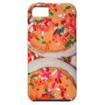 El naranja heló las galletas de azúcar iPhone 5 Case-Mate cobertura