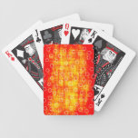 el naranja puntea tarjetas barajas de cartas