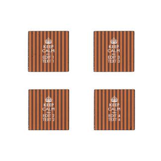 El naranja quemado personaliza esto guarda la obra imán de piedra