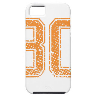 El naranja se divierte el número 30.png de Jerzee Funda Para iPhone 5 Tough