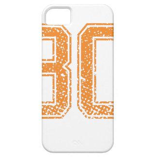 El naranja se divierte el número 30.png de Jerzee iPhone 5 Carcasas