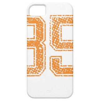 El naranja se divierte el número 35.png de Jerzee iPhone 5 Fundas