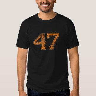 El naranja se divierte el número 47.png de Jerzee Camisas